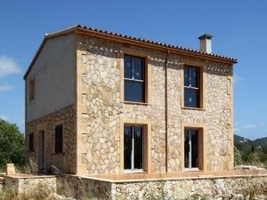 Casa en construcción en Sa Coma