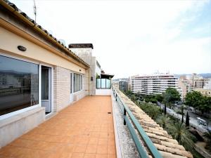 Ático con vistas espectaculares en el centro de Palma de Mallorca.