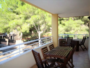 Piso moderno con terraza grande en Cala Ratjada