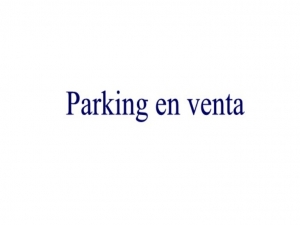 Parking en venta en Son Servera