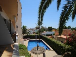 Piso con piscina en Cala Millor