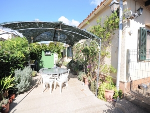Acojedora casa con jardín en Cala Millor