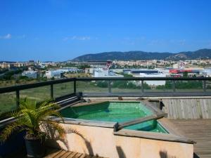 Ático con terraza y vistas despejadas en Palma