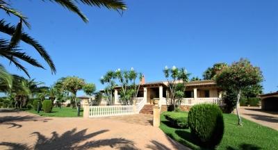 Maravillosa finca de lujo en zona tranquila a 8 minutos del centro de Palma de Mallorca.
